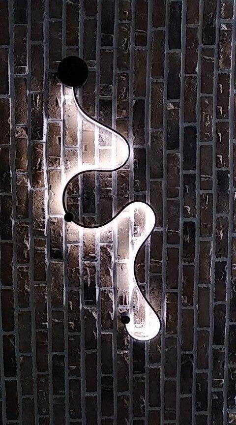 Luminárias de parede Lâmpadas Parede Moderna