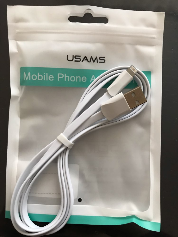 USAMS USB Phone Cable for iPhone XR XS Cable for iPad iPhone 6 7 8 plus Data Sync USB 2A Charging Cable for iOS 12 11 Apple|Mobile Phone Cables| |  - AliExpress