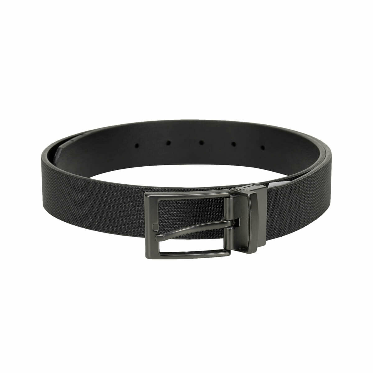 FLO MPRA3550 Black Male Belt Garamond