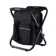Многофункциональное складное рыболовное кресло рюкзак со стулом