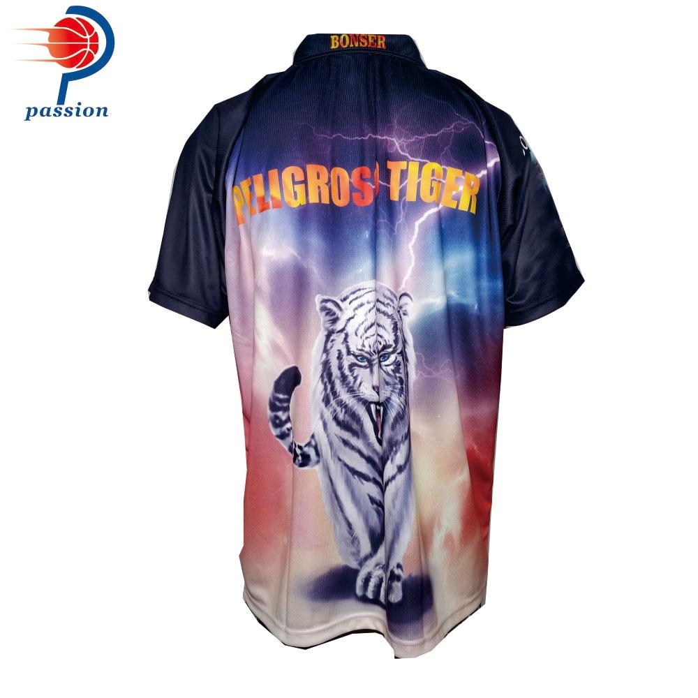 Poloshirt Polohemd Darthemden Vereine Dart Polo T-Shirt Pitbull Bulls Bulle 26