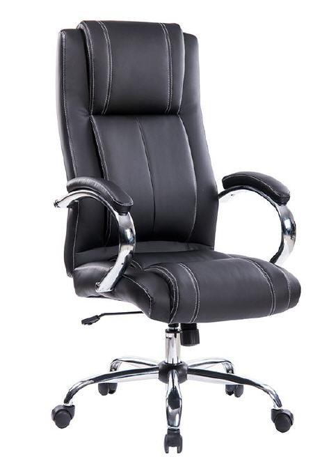 Office Armchair TURIN, High, Gas, Tilt, Similpiel Black