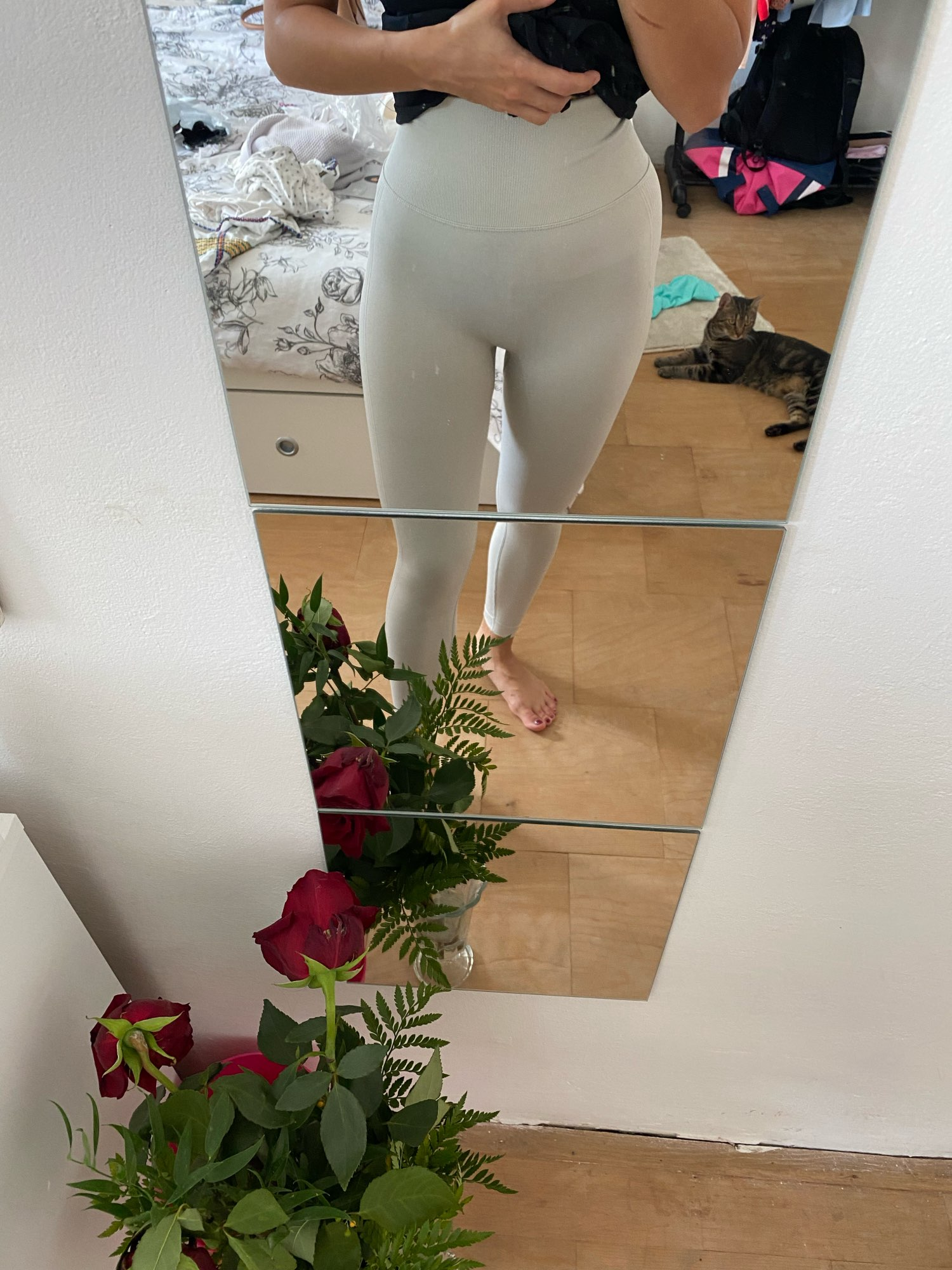 High Waist Seamless Leggings With Push-Up Effect photo review