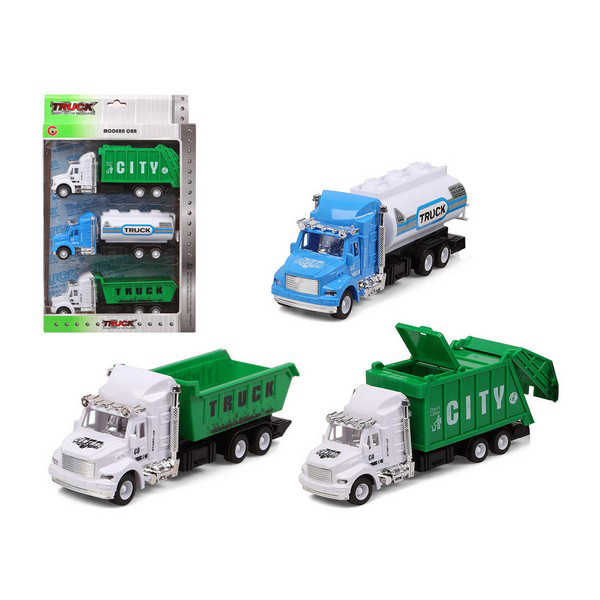 Set Of Cars City Truck 119282 (3 Uds)