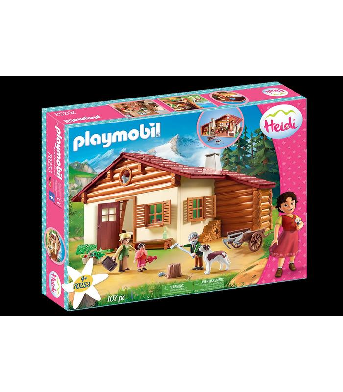 Playmobil 70253 Heidi In The Cabin Of The Alps Toy Store