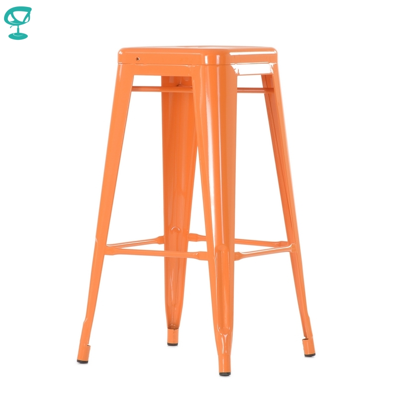 N241RAL Barneo N-241 High Metal Kitchen Breakfast Interior Stool Bar Chair Kitchen Furniture 14 Colors Free Shipping In Russia