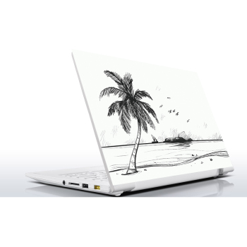 Sticker Master Beach Sketch Universal Sticker Laptop Vinyl Sticker Skin Cover For 10 12 13 14 15.4 15.6 16 17 19 Inc Notebook decal for Macbook,asus,Acer,Hp,Lenovo,Huawei,Dell,Msi,Apple,Toshiba,Compaq  Laptop Sticker pag unique decorative sticker for apple macbook laptop black