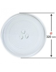 Microwave plate LG 320mm (anchor 12mm) ML-2881-CC