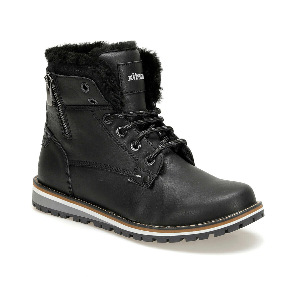 FLO WIND G 9PR Black Male Child Boots KINETIX