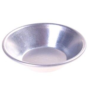 Image 3 - 6 pçs bolo de bolo de bolo de bolo de bolo de bolo de bolinho de alumínio forrado molde estanho ferramenta de cozimento ping tart redonda molde de cozinha de alumínio bakeware
