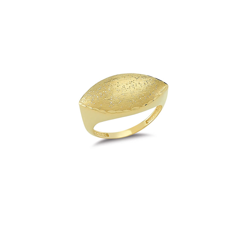14K Solid Gold Classy Ring for Women