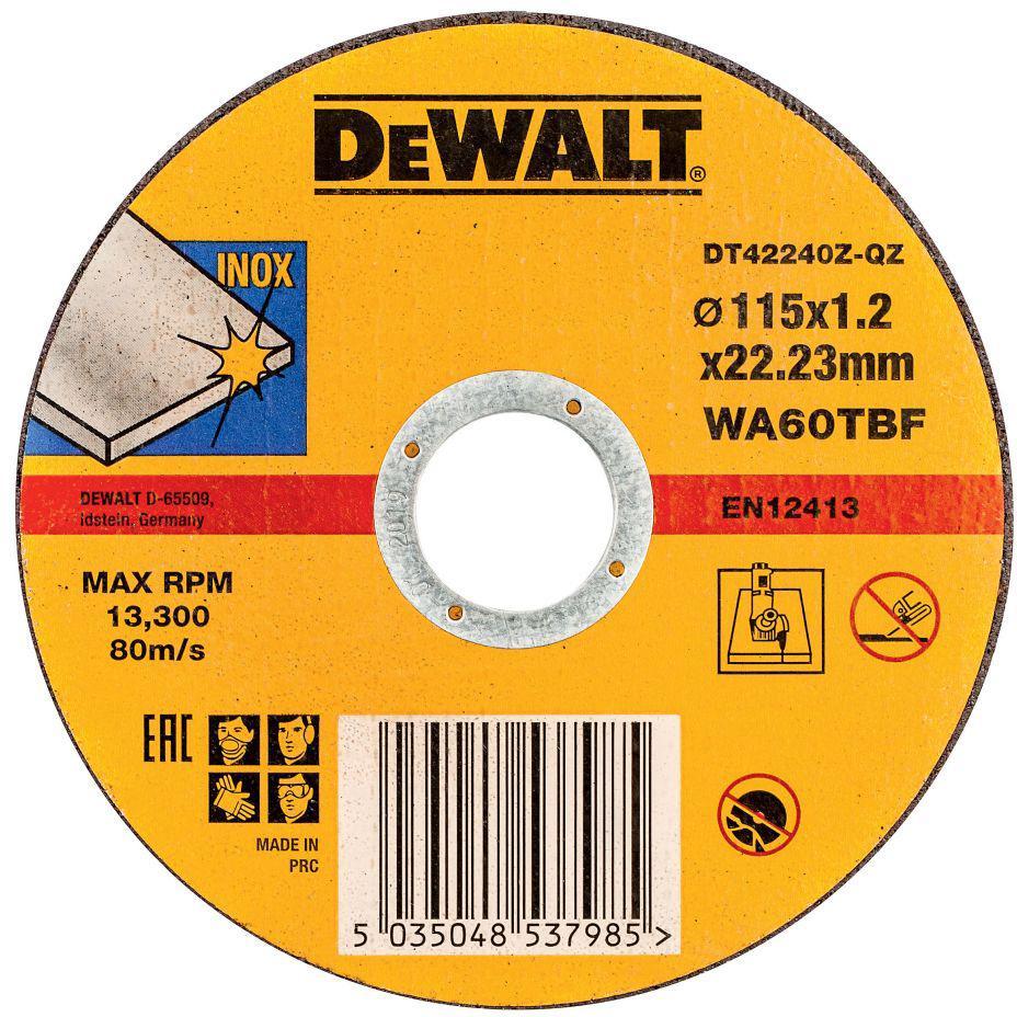 Circle Cutting DEWALT 115х1. 2h22 DT42240ZQZ