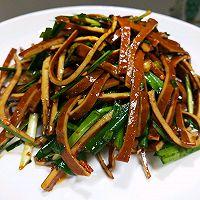 #百变鲜锋料理#简单四步快手菜~凉拌豆皮的做法图解7