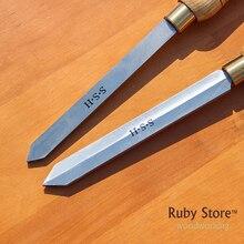 A2018 2 scalpello per troncatura o A2019 L raschietto per utensili per troncatura HSS