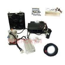 Compresseur électrique de réfrigération pour véhicule à énergie, version améliorée du climatiseur électrique pour automobile 12V 24V