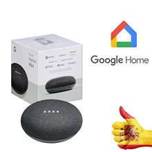 GOOGLE HOME MINI CARBON gray speaker (GA00216-ES) voice assistant for Home Kitchen Bathroom Bedroom Lounge-shipping from Spain