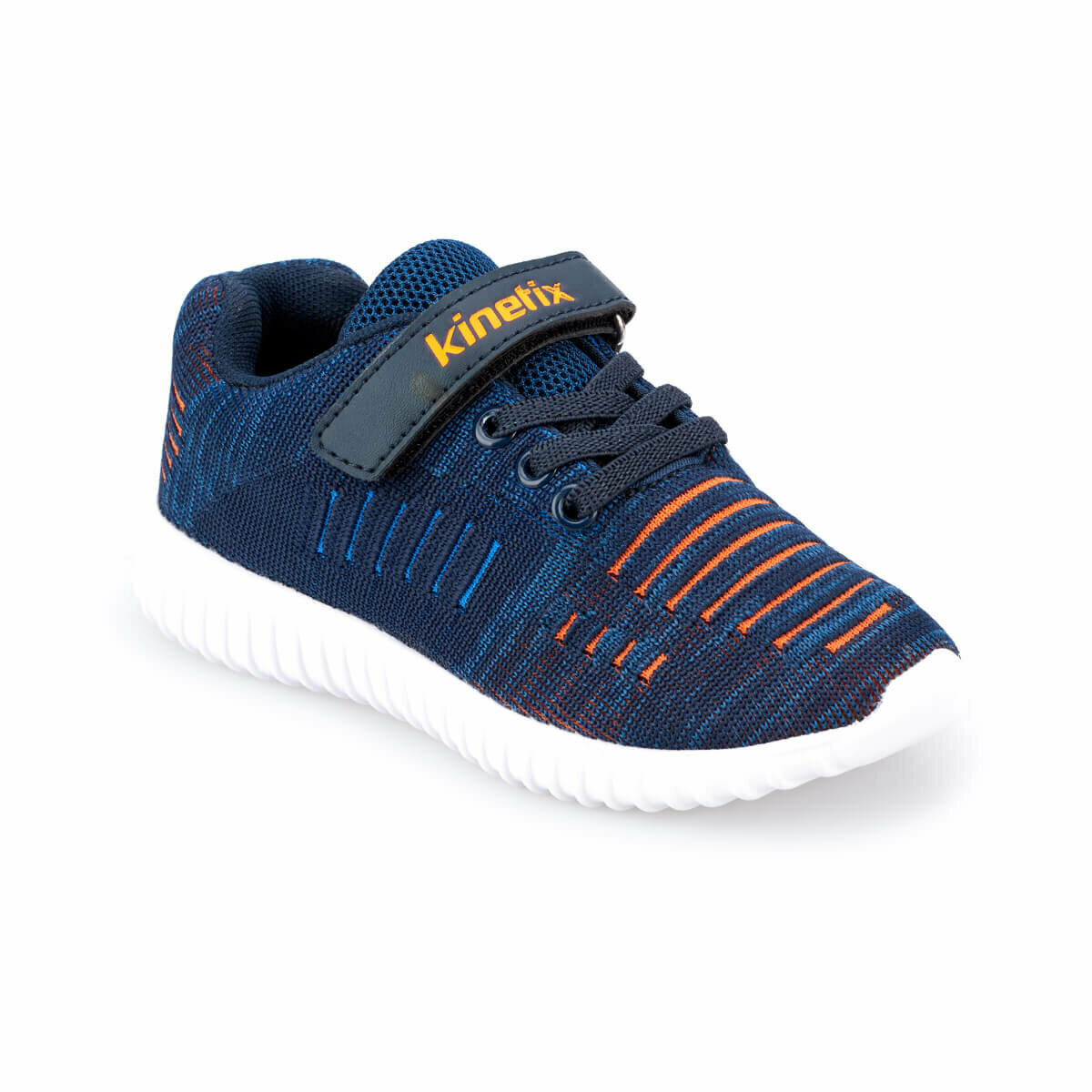 FLO HAGAR Navy Blue Male Child Hiking Shoes KINETIX