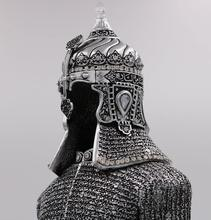 Muslim Home Decor Showpiece -- Ottoman Suit of Armor, Arabic Jawshan Kabir (dua for protection) is inscribed()