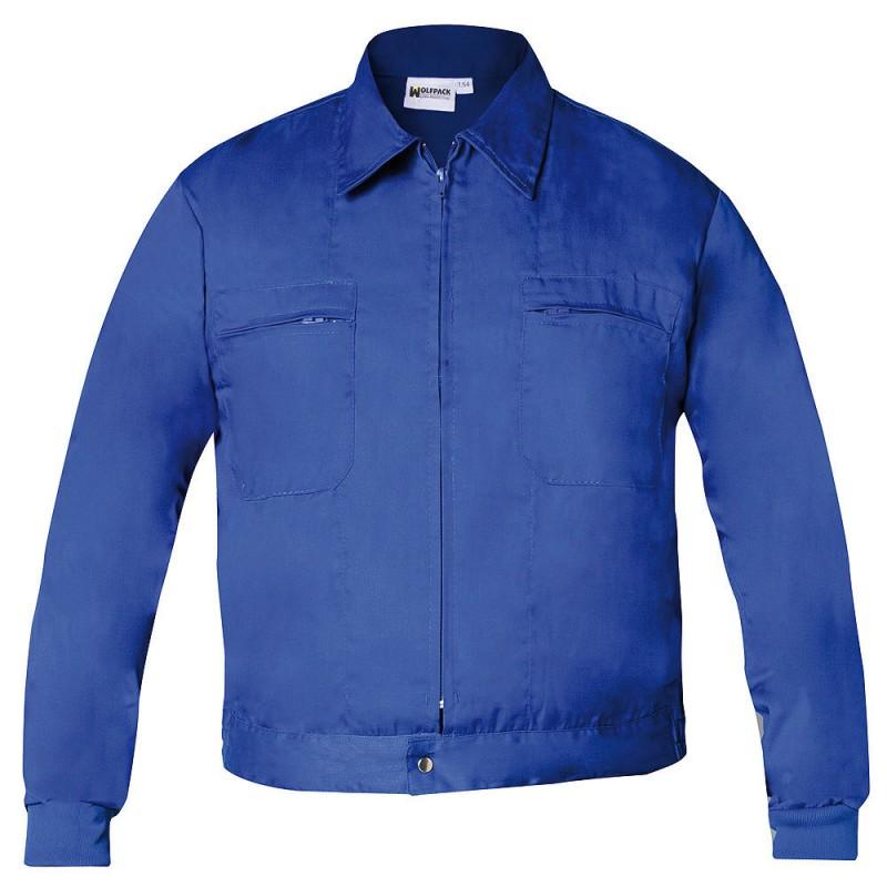 Work Jacket Blue Size 48