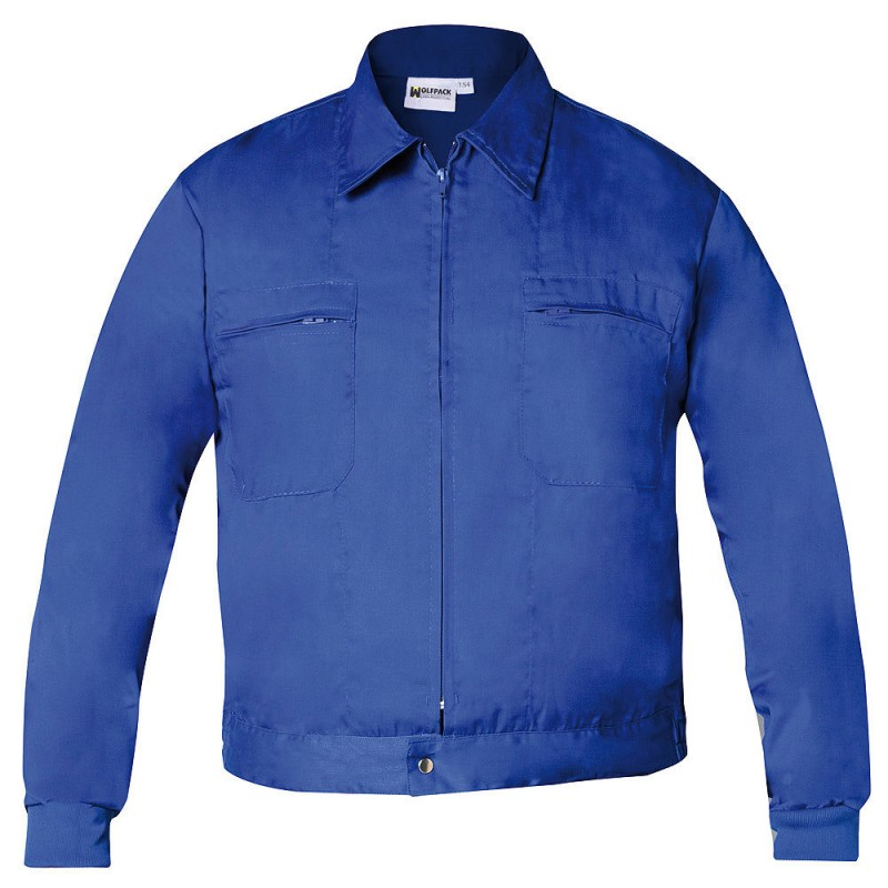 Work Jacket Blue Size 66