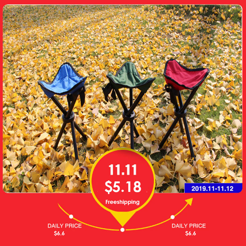 fishing chair Outdoor folding chair stool portable fishing beach chair Mazar folding stool fishing tool fishing Accessories