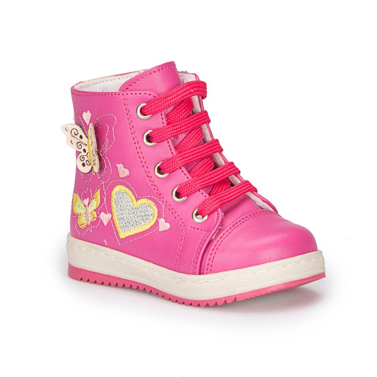 FLO 72.507532.B Fuchsia Female Child Sneaker Shoes Polaris