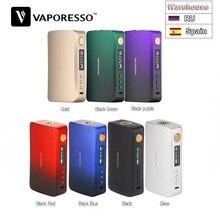 Обновленная версия! 220 Вт Vaporesso GEN TC Box MOD W/абсолютно набор микросхем Axon электронная сигарета Vape Mod VS Vaporesso Polar TC Box MOD