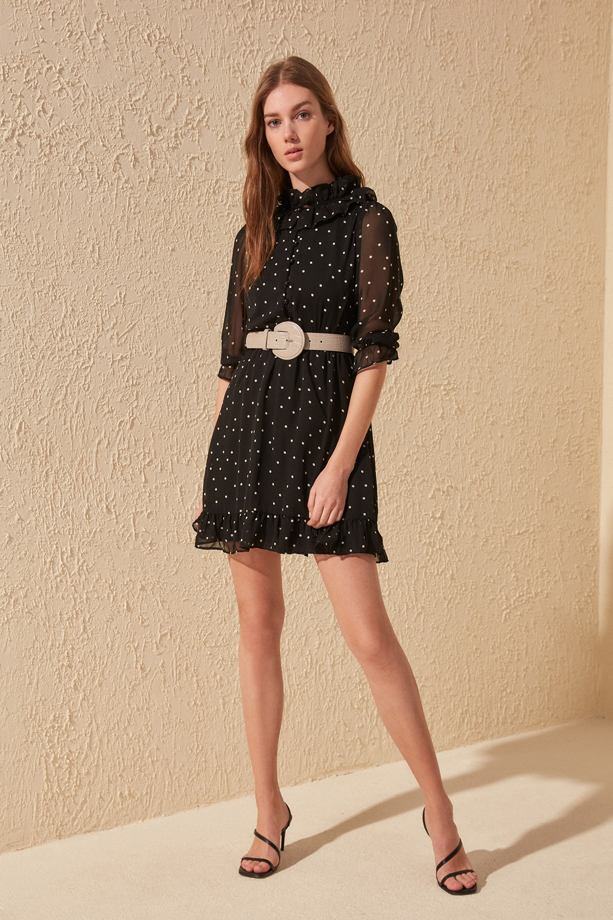 Trendyol Polka Dot Dress TWOSS20EL1091