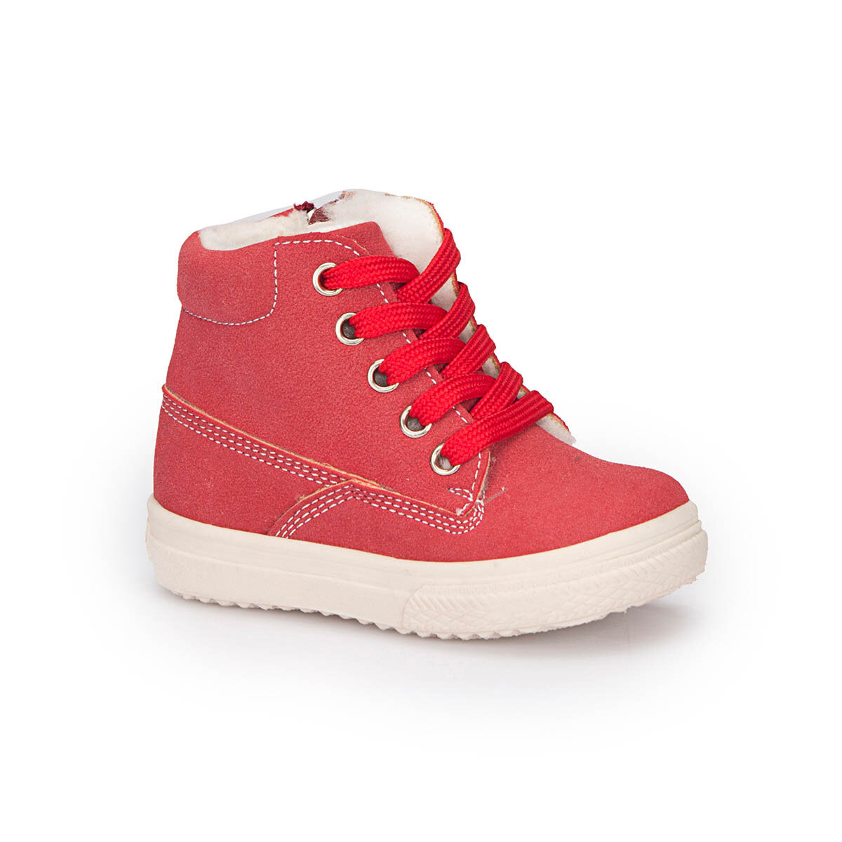 FLO 72.509523.B Red Female Child Sneaker Shoes Polaris