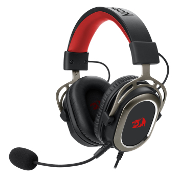 Redragon H710 Helios Wired Gaming Headset - 7.1 Surround Sound - Memory Foam Ear Pads - 50MM Drivers - Detachable Microphone 1
