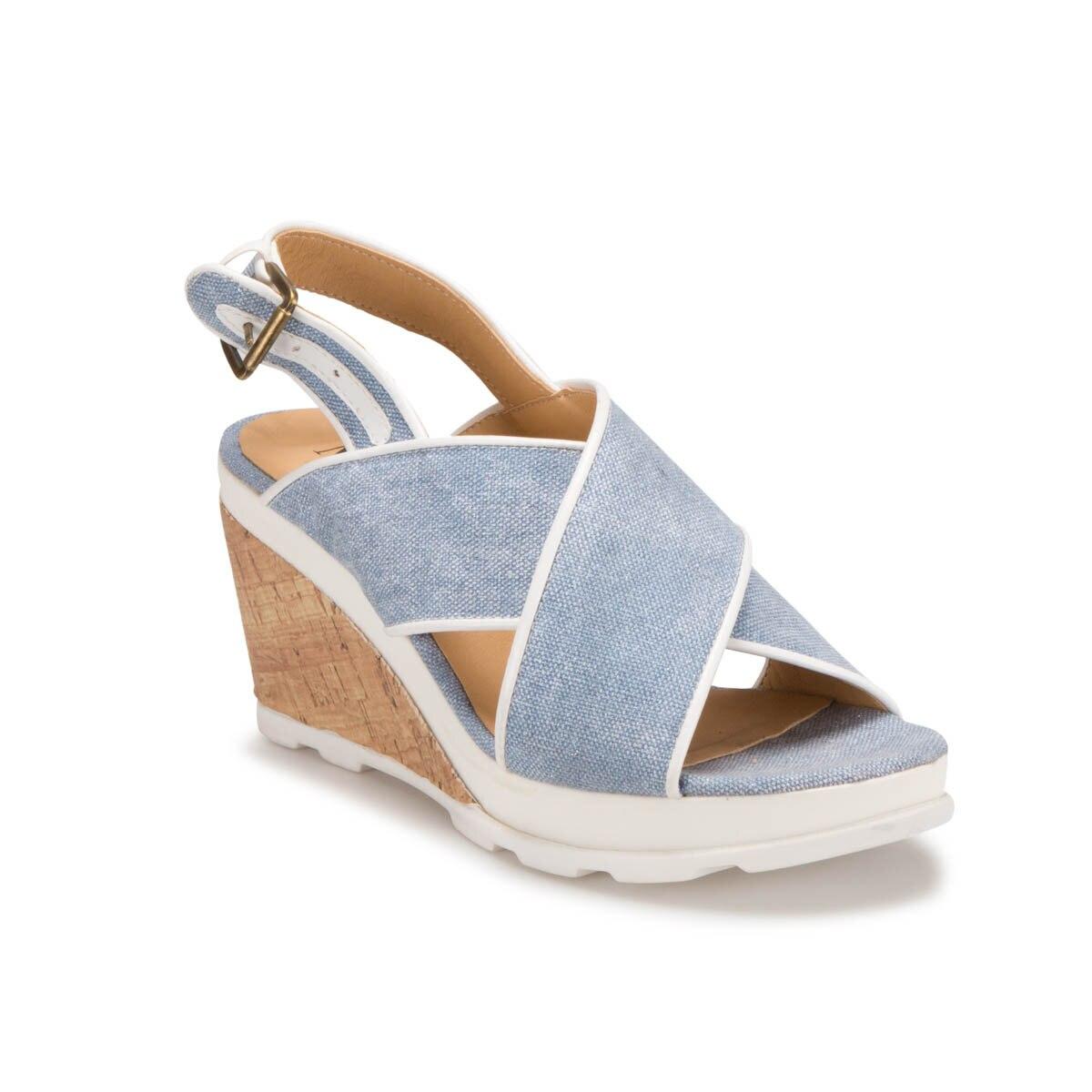 FLO DS17076 Blue Women 'S Dress Shoes Miss F