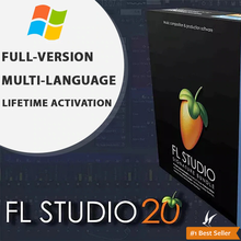 Ensemble de Signature FL Studio 20, édition du producteur, Activation à vie, pour Windows