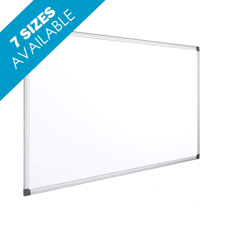 White Magnetic Lacquered 1200 X 900 MM Slate With Easy-to-erase Sturdy Aluminum Frame