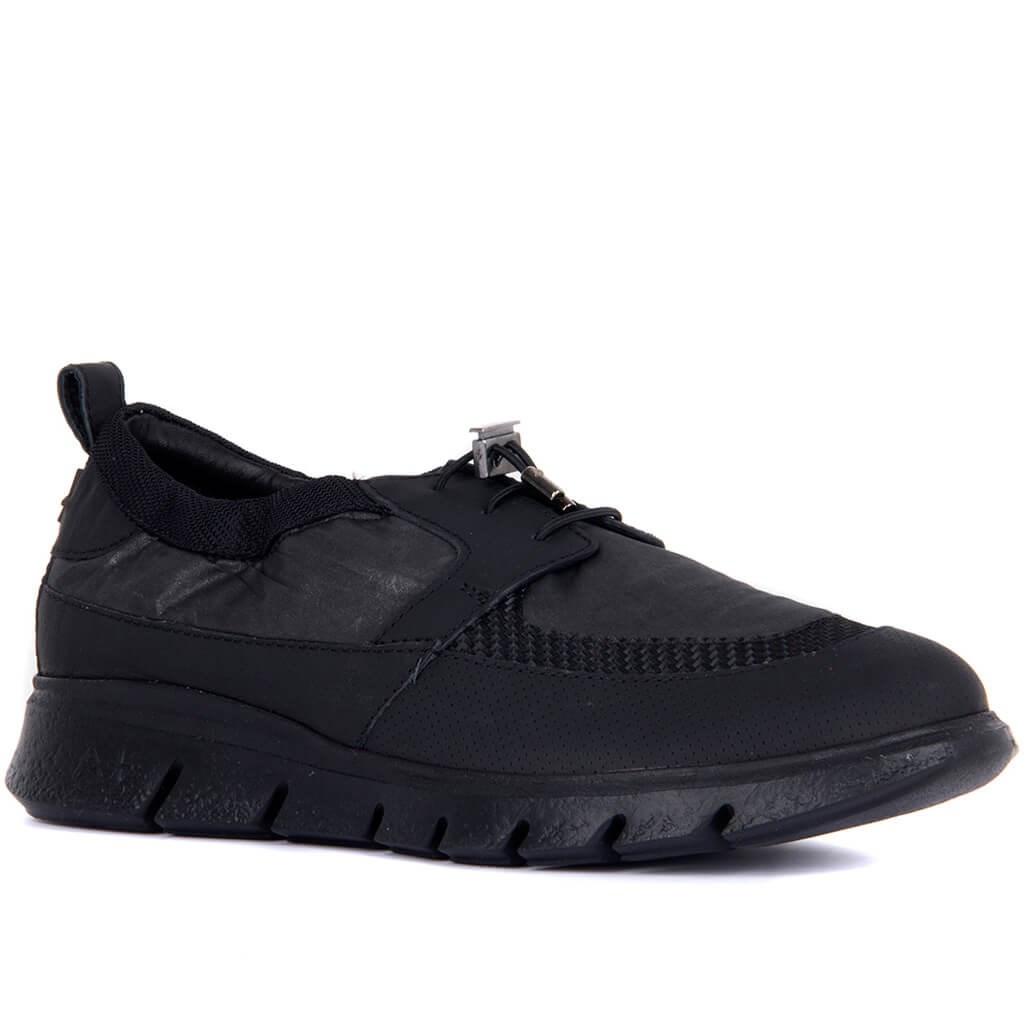 Special-Edition Black Men Casual Shoes