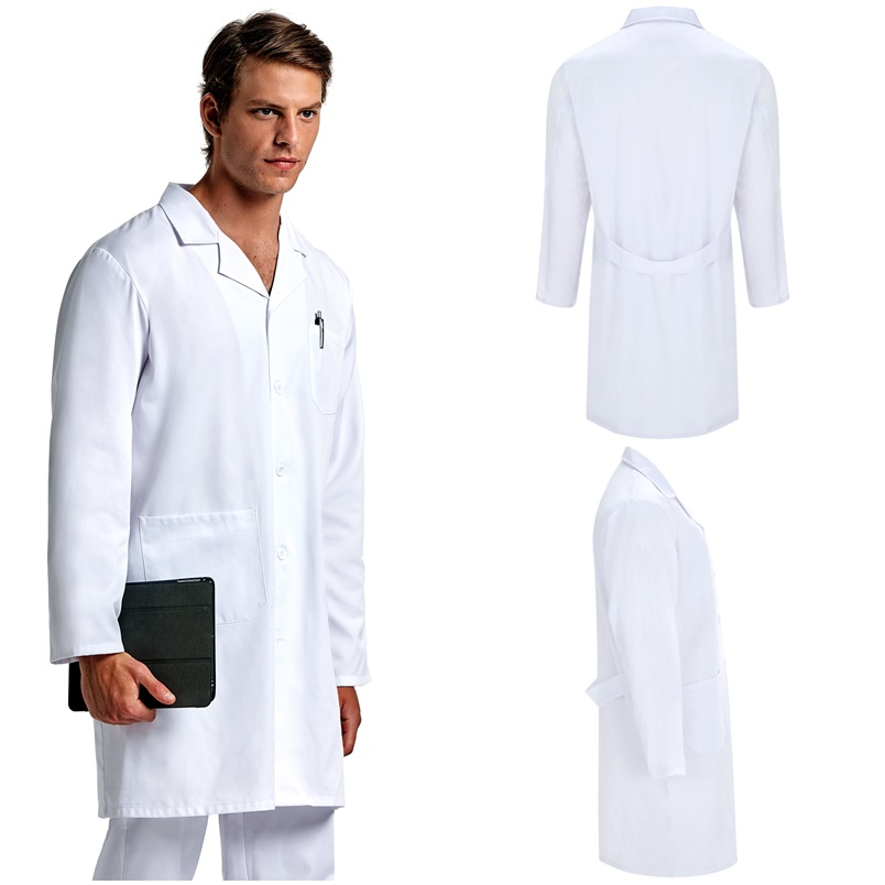 Robe Unisex Lab, Health, Aesthetic, Foraging And Cleaners. Blanca