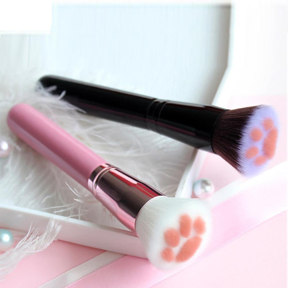 1PC Makeup Brush Foundation Powder Cat Claw Shape Brushes Face Fiber Hair Cosmetic Pen Make up Brushes Beauty Tool