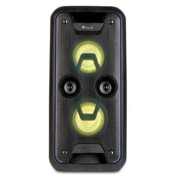 Bluetooth Speakers NGS WILDJAM LED FM 120W Black