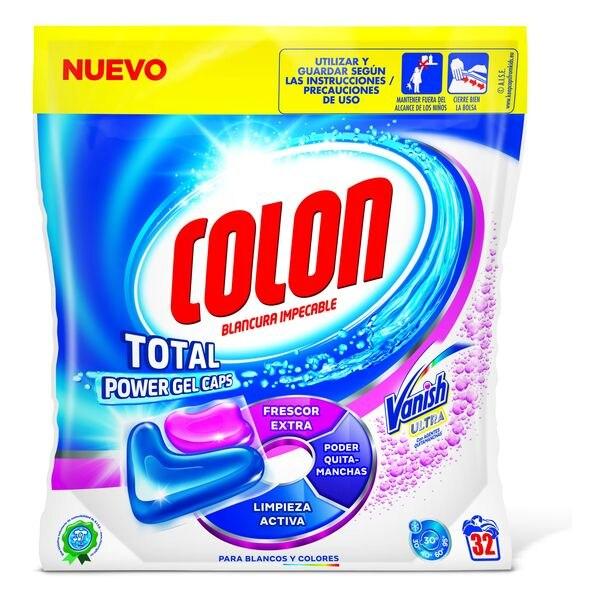 Colon Total Power Vanish Clothes Detergent (32 Washes)