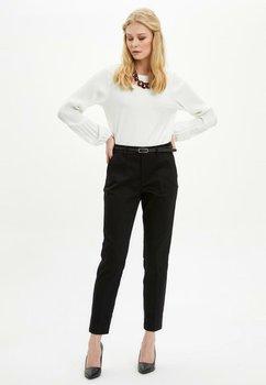 DeFacto Woman Trousers Women Spring Casual Pencil Pants Women Solid Color Skinny Bottoms Trousers-N1152AZ20SP цена 2017