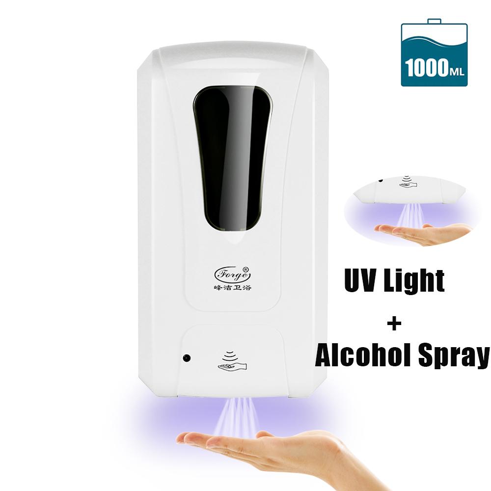 U98ef1a13a2c248d4a3ccd74001bd736eP Hand Sanitizer Touchless Dispenser 1000 mL Sensor Touch Free Hand Sanitizer Dispenser Alcohol Mist Spray Machine