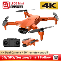 Dron L900 Pro 5G GPS 4K, con cámara HD, FPV, 28 minutos de vuelo, Motor sin escobillas, distancia, 1,2 km, profesional