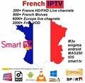 Европа IPTV Германия IPTV французский IPTV 2000 + live Free VOD Поддержка Android m3u enigma2 mag250 TVIP 2000 + Vod