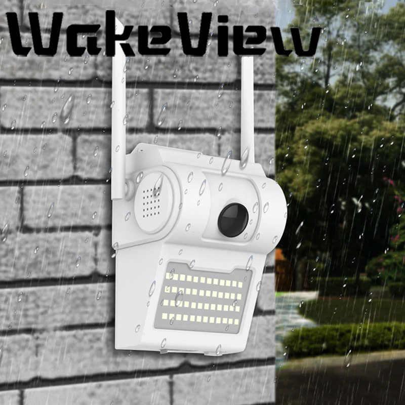 WakeView Smart 1080P/2MP Водонепроницаемая настенная ip-камера в форме лампы ИК Ночное Видение Обнаружение движения умная Индукционная лампа наружная камера