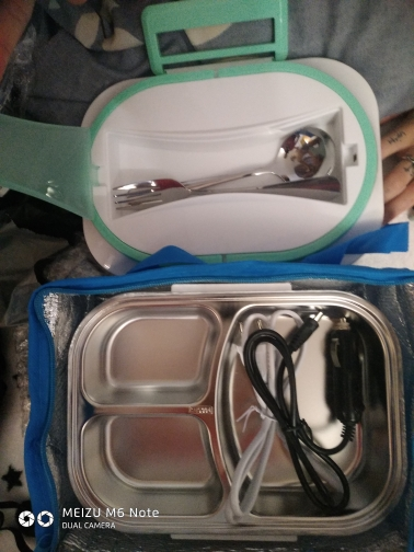 Stainless Steel Food Heating Lunch Box photo review