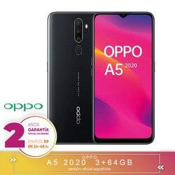 [Официальная гарантия испанской версии] OPPO A5 2020-смартфон 6,5 дюймHD +, 4G Dual SIM, 3 жестких ГБ/64 жестких ГБ, Qualcomm Snapdragon 665 Oct
