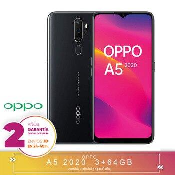 Перейти на Алиэкспресс и купить [Официальная гарантия испанской версии] OPPO A5 2020-смартфон 6,5 дюймHD +, 4G Dual SIM, 3 жестких ГБ/64 жестких ГБ, Qualcomm Snapdragon 665 Oct