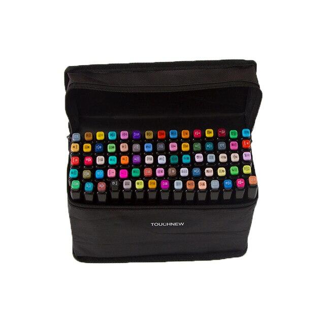 Маркеры для рисования Touchfive, 20, 30, 40, 60, 80, 168 цветов