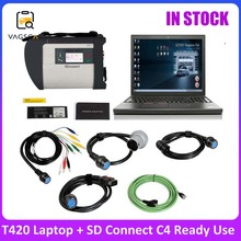 V2021.03 C4 Version for MB SD Connect Star Diagnosis MB Star Plus T420 Laptop I5 System