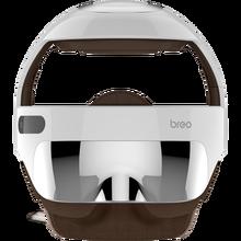 Breo isdream 5S cabeça de aquecimento elétrico massagem capacete pressão ar vibração terapia massageador música estimulador muscular cuidados saúde