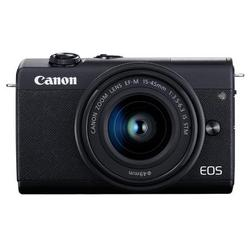 Canon EOS M200 Mirrorless Digital Camera with 15-45mm Lens - Black